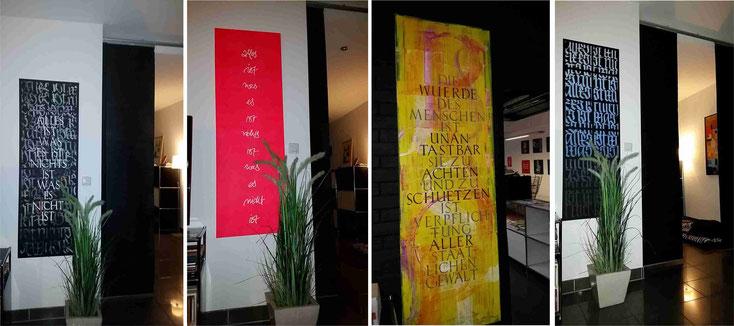 Kalligrafie-Wandbilder