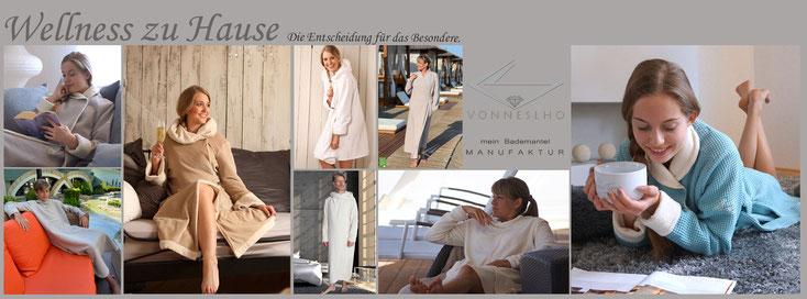 Bio Bademantel, Luxusbademantel, Bademantel extra lang flauschig kuschelig Designerbademantel Morgenmantel