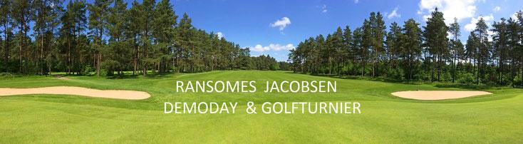 Bild: Golfplatzmäher Golfturnier