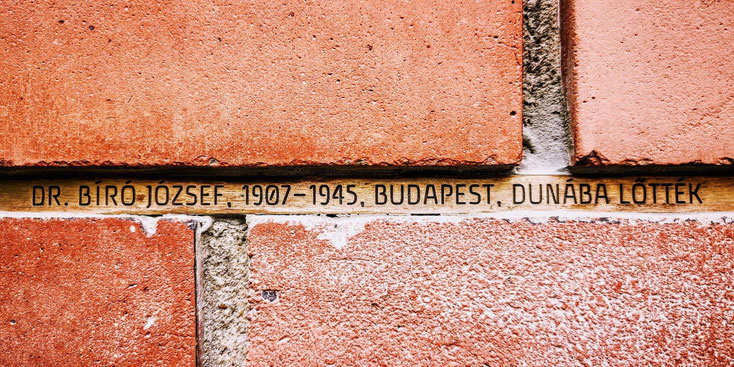 Shoahdenkmal in Budapest. Fotografie: Miklós Klaus Rózsa