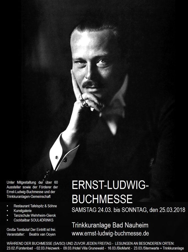 Wir sind dabei! Bad Nauheim ist ein wunderschöner Ort und die Ernst-Ludwig-Buchmesse eine ganz besondere Veranstaltung! Auch für Nicht-Leser!