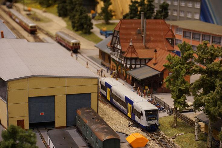 WEG Modellbahn Nürtingen Neuffen Tälesbahn Modellbahnfreunde Nürtingen