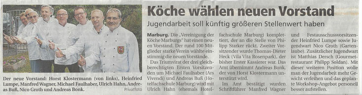 Pressebericht aus der Oberhessischen Presse vom 06.09.2018