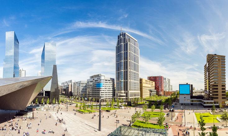 Rotterdam Skyline; Detektei Rotterdam, Detektiv Rotterdam, Privatdetektiv Rotterdam
