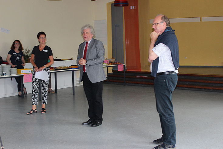 Eröffnung des Sommerfestes 2016 durch den Bezirksbürgermeister Holm Sternbacher