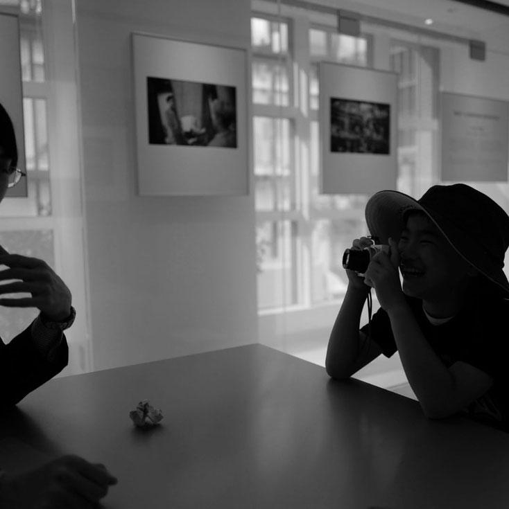 写真:leica 銀座本店内での講習の様子
