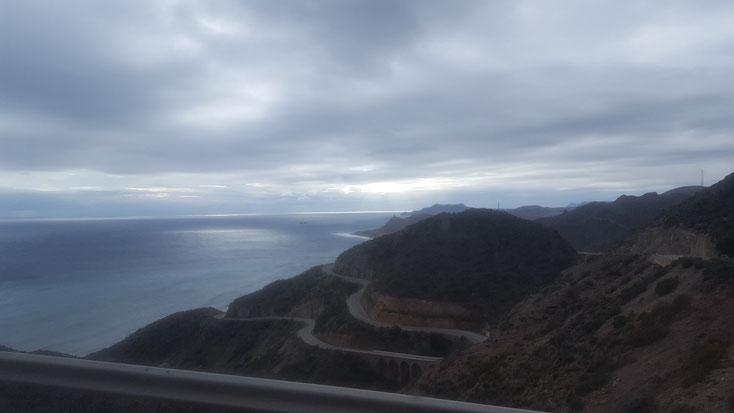Auf dem Weg zum Cabo de Gata, eine beeindruckende Landschaft