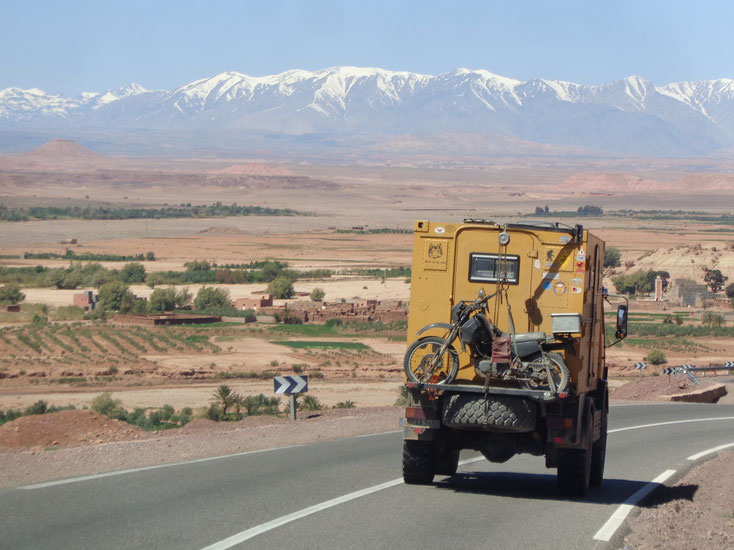 Auf dem Weg nach Ait Benhaddou