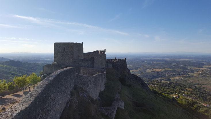 Burg Marvao - ein Blick auf die ganze Welt. Ein alter Spruch der wahr erscheint