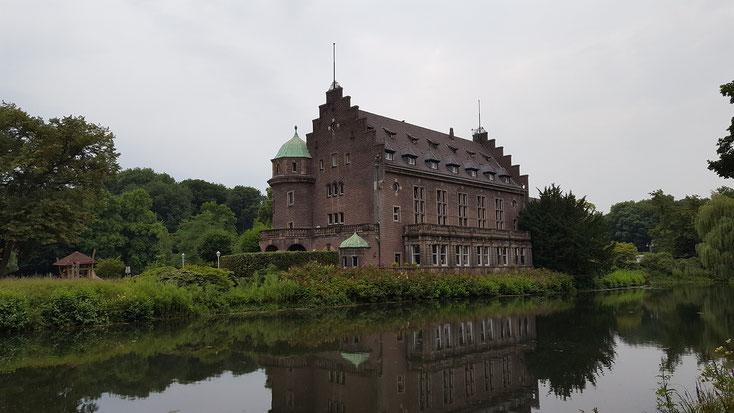 Wasserschloß Wittringen, 200 Meter vom Stellplatz entfernt