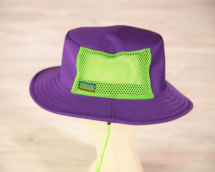 ボート 帽子 パープル