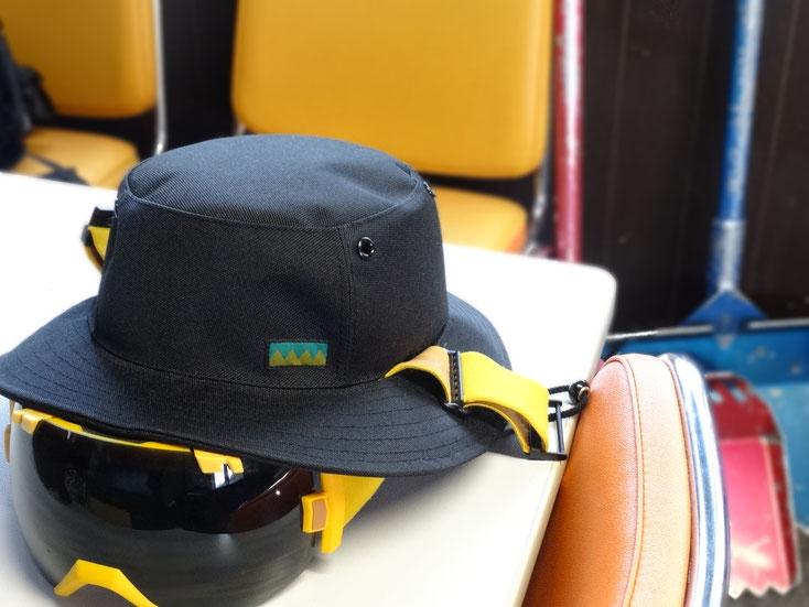 テツオミシンの雪山用の帽子