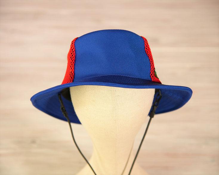 マリンハット 青色の帽子