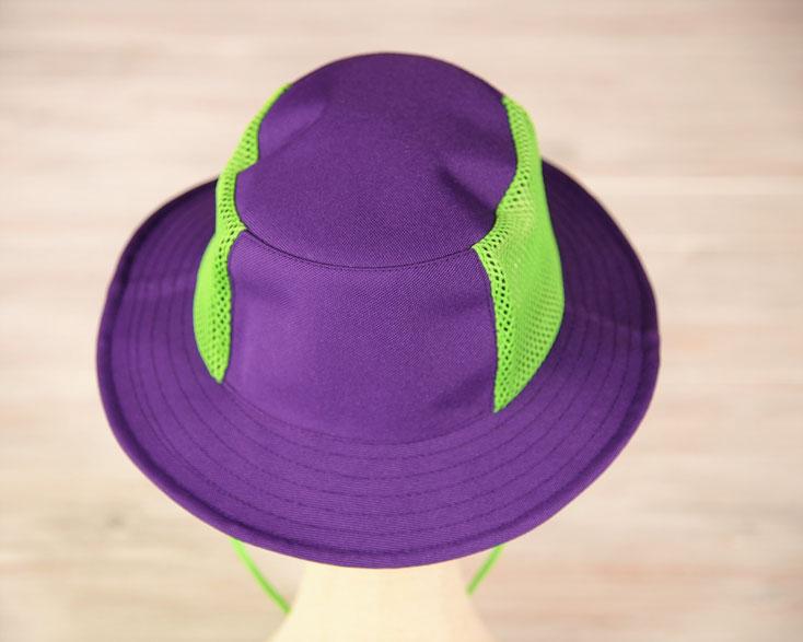 釣りハット 紫