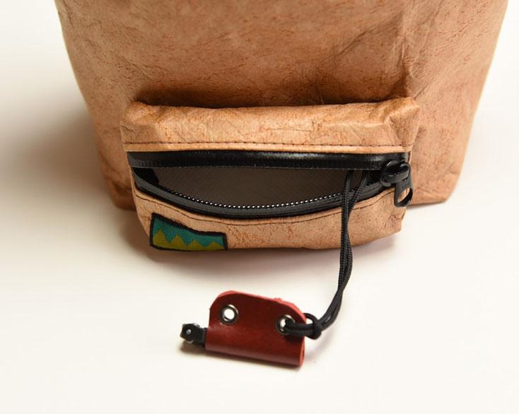 スタッフバッグにクリッパーの着火装置