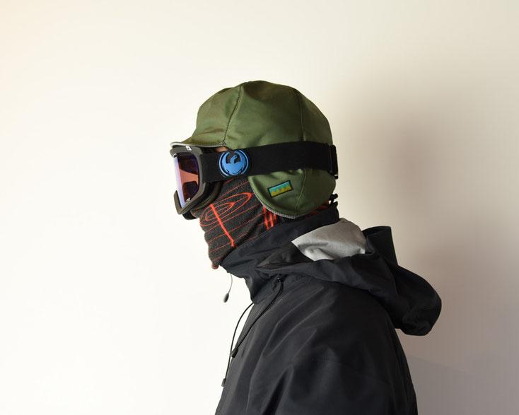 スノーボード バックカントリー 帽子