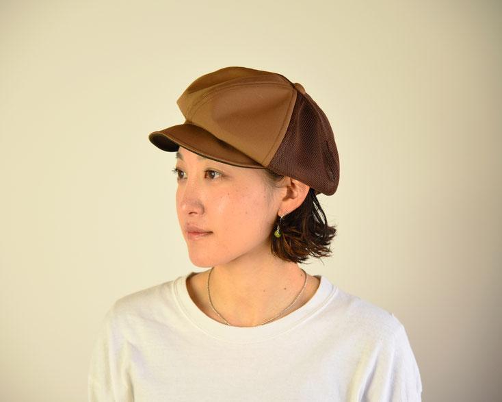 アウトドア キャスケット 帽子