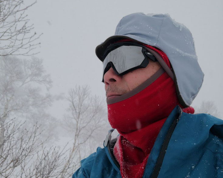 冬山 帽子