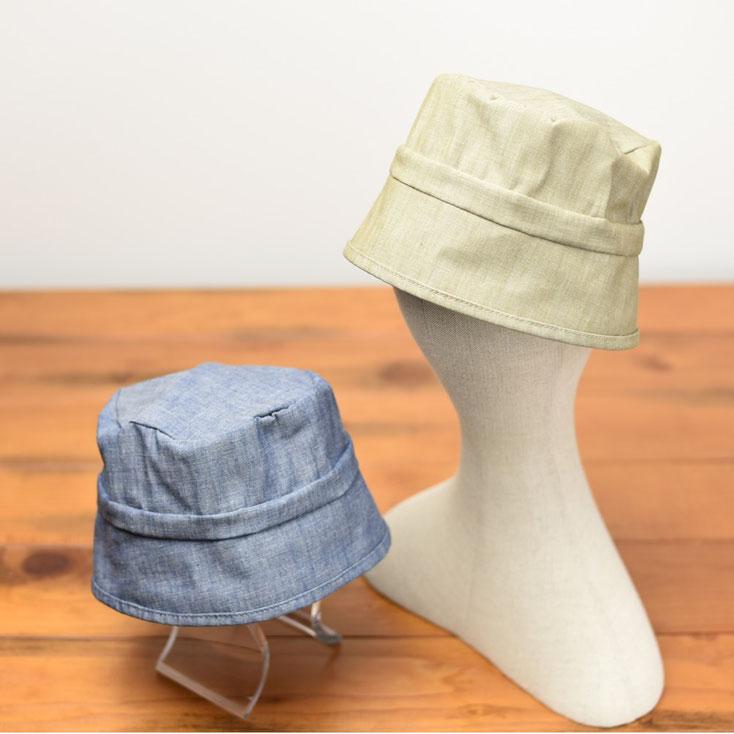 洗える帽子