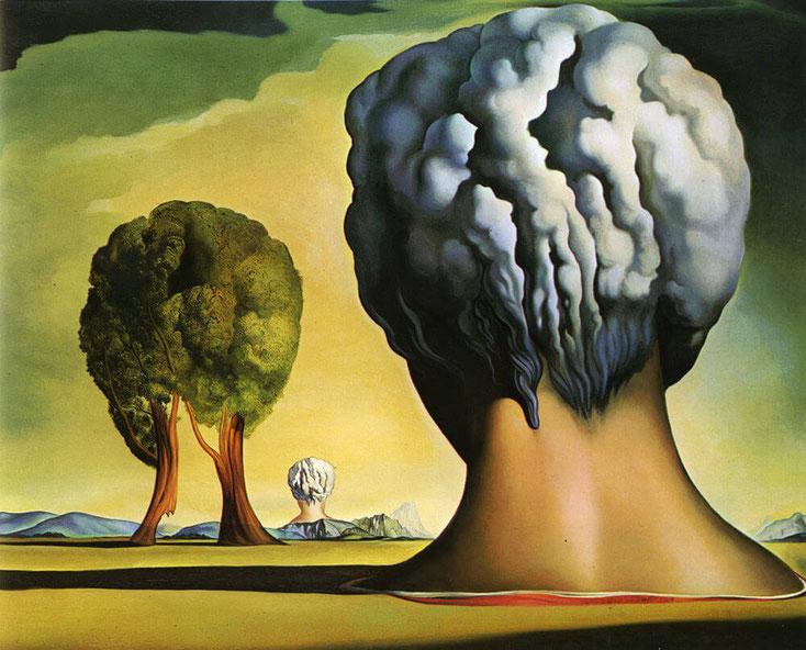 "S.Dalì, ""Le tre sfingi di Bikini"" (1947)"
