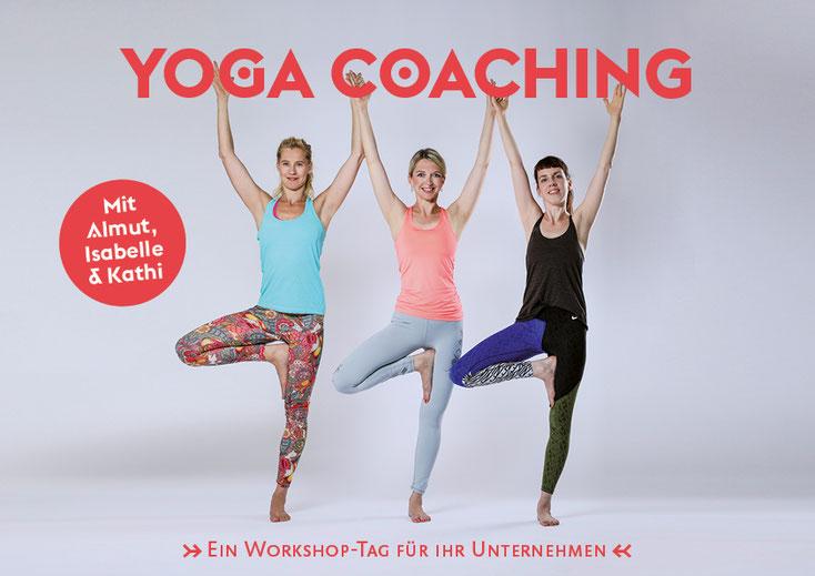 Business Yoga für Unternehmen | Yoga Mio direkt am Arbeitsplatz | Yoga für Firmen in Halle
