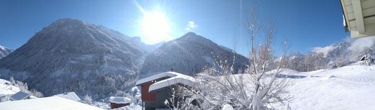 Sool im Winter - Sicht nach Süden (31.01.2015)