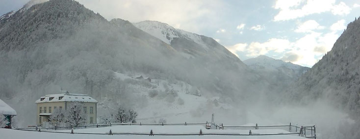 Sool im Winter - Sicht nach Osten (31.01.2015)