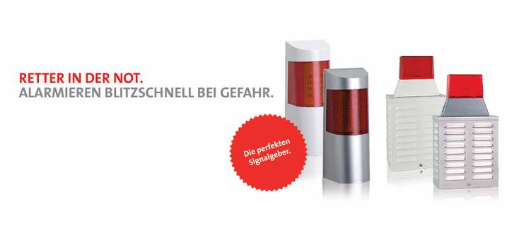 Telenot optisch akustischer Signalgeber presented by SafeTech