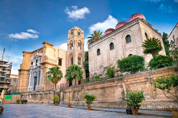 San Cataldo, Kirche in Palermo; Kurtz Detektei Köln, Detektive Palermo und Sizilien