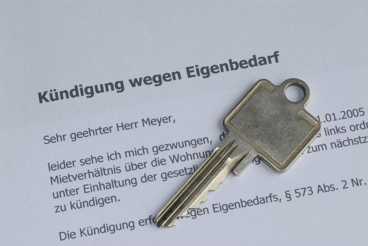 Kündigungsbrief Mietverhältnis; Detektei Saarland, Detektiv Saarbrücken, Privatdetektive
