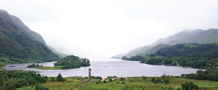 Loch Shiel, Glenfinannan, Schottland
