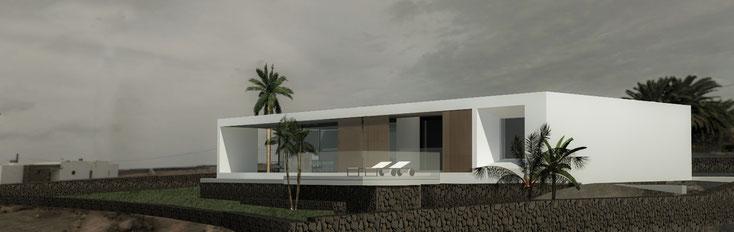 Casa Cercas en Lajares - próxima construcción