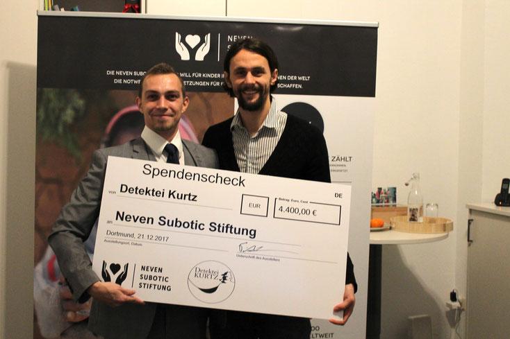 Neven Subotic Stiftung; Detektei Flensburg, Detektiv Rendsburg, Privatdetektiv Neumünster