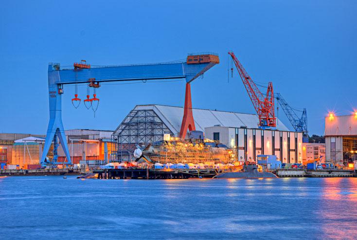 Werft in Kiel; Wirtschaftsdetektiv Kiel, Wirtschaftsdetektei Schleswig-Holstein, Detektiv