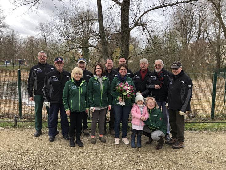 2019-03-16 Dorfteicheinsatz Arbeitsgruppe