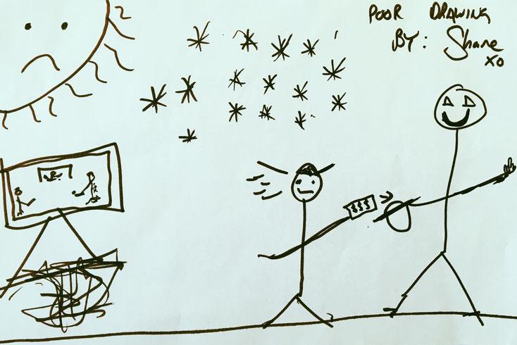 Shanes Zeichnung