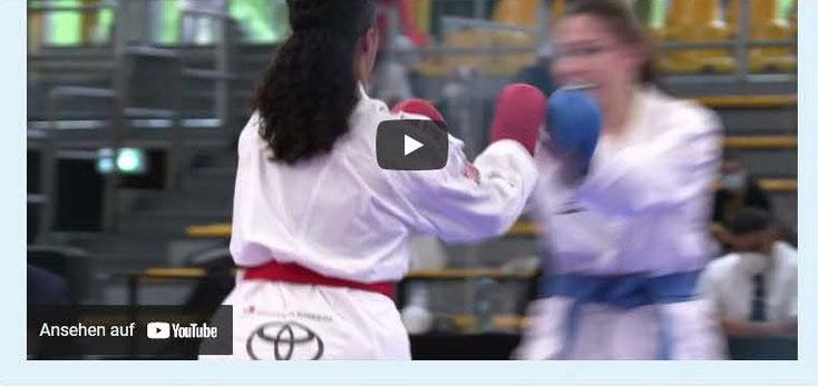 Eine kurze Videoumfrage warum Jugendliche gerne Karate machen