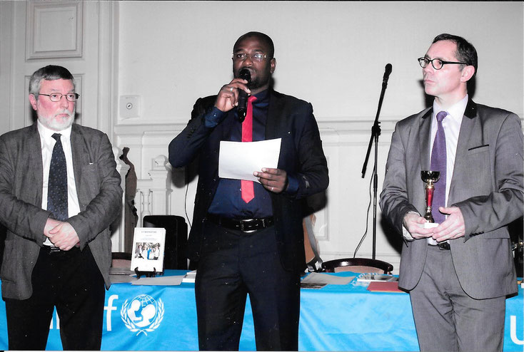 Remise des Prix du Concours Europoésie au Profit de l'UNICEF 2016.
