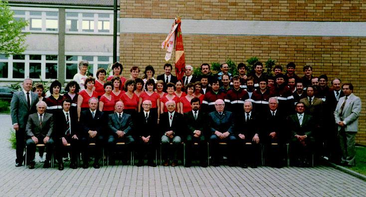 60-jähriges Jubiläum 1986