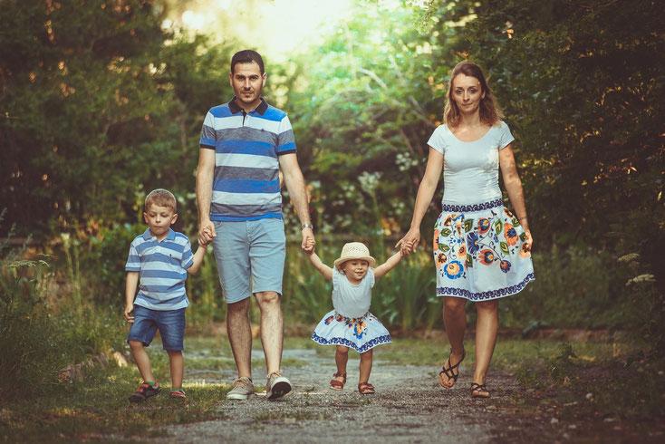 Familien Fotoshooting Familienfotograf Wien