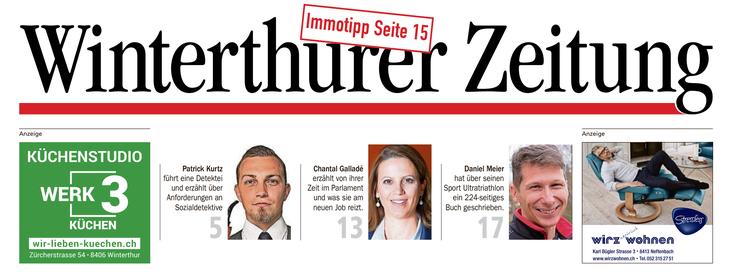 Winterthurer Zeitung Patrick Kurtz; Sozialdetektiv Schweiz, Sozialdetektiv Zürich, Detektei Winterthur