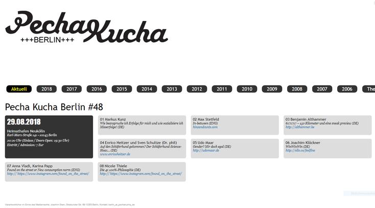 http://pechakucha.de/berlin/