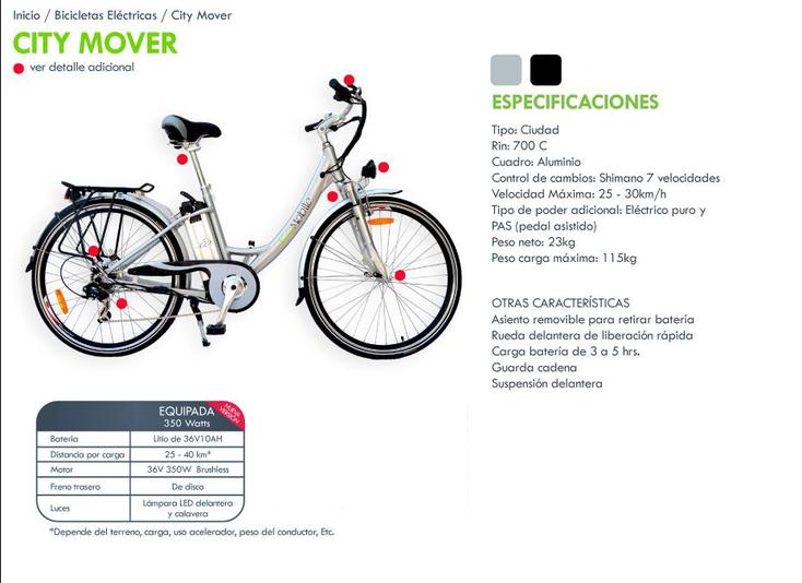 Bicicleta eléctrica ideal para moverse y reducir gastos de transporte