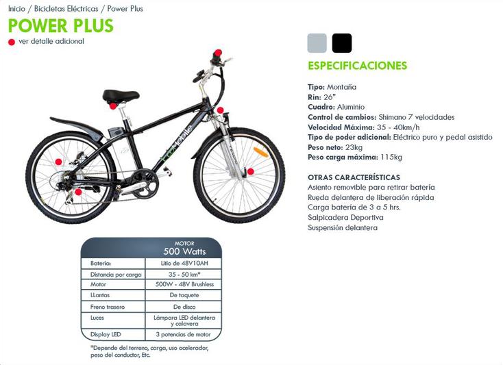 Transporte ecológico y economizador de gasolina Bicicleta eléctrica de 500 w