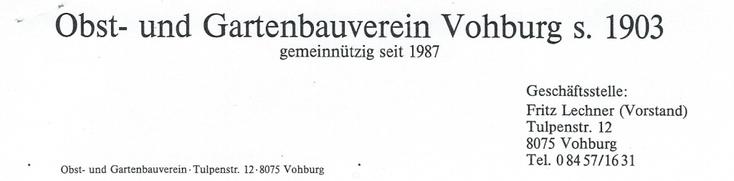 """Briefkopf aus der Zeit """"Fritz Lechner"""""""
