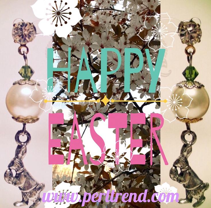 www.perltrend.com Ostern 2017 Happy Easter Öffnungszeiten Blog