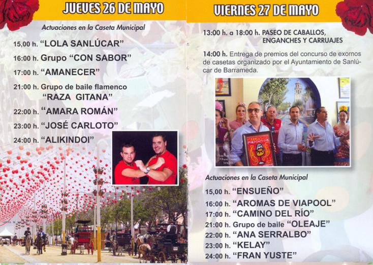 Feria de la Manzanilla en Sanlúcar de Barrameda