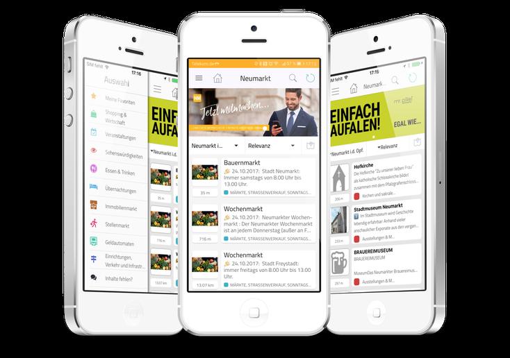Neumarkt Regional: Die App für den Landkreis Neumarkt