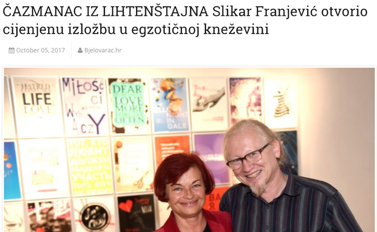 Croatian news media BJELOVARAC.HR promoted this story on 5th September 2017. (Click photo here above to open the story)!