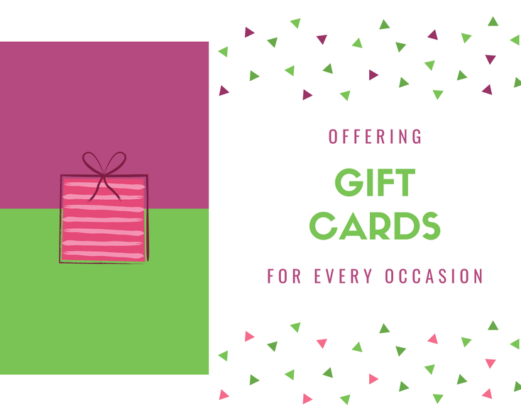 gift cards massage